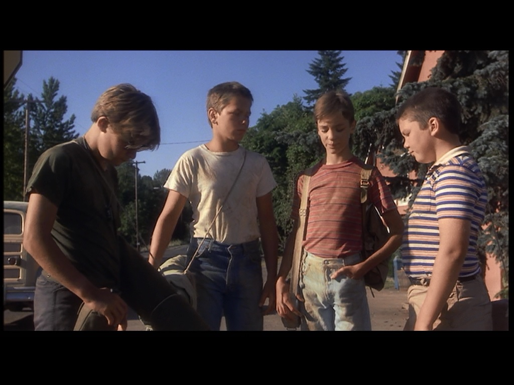 the body vs stand by me essay Essay by rachelrb78, high school, 12th grade, a-, march 2014  in the novella  the body and the movie stand by me, we see a story of four.