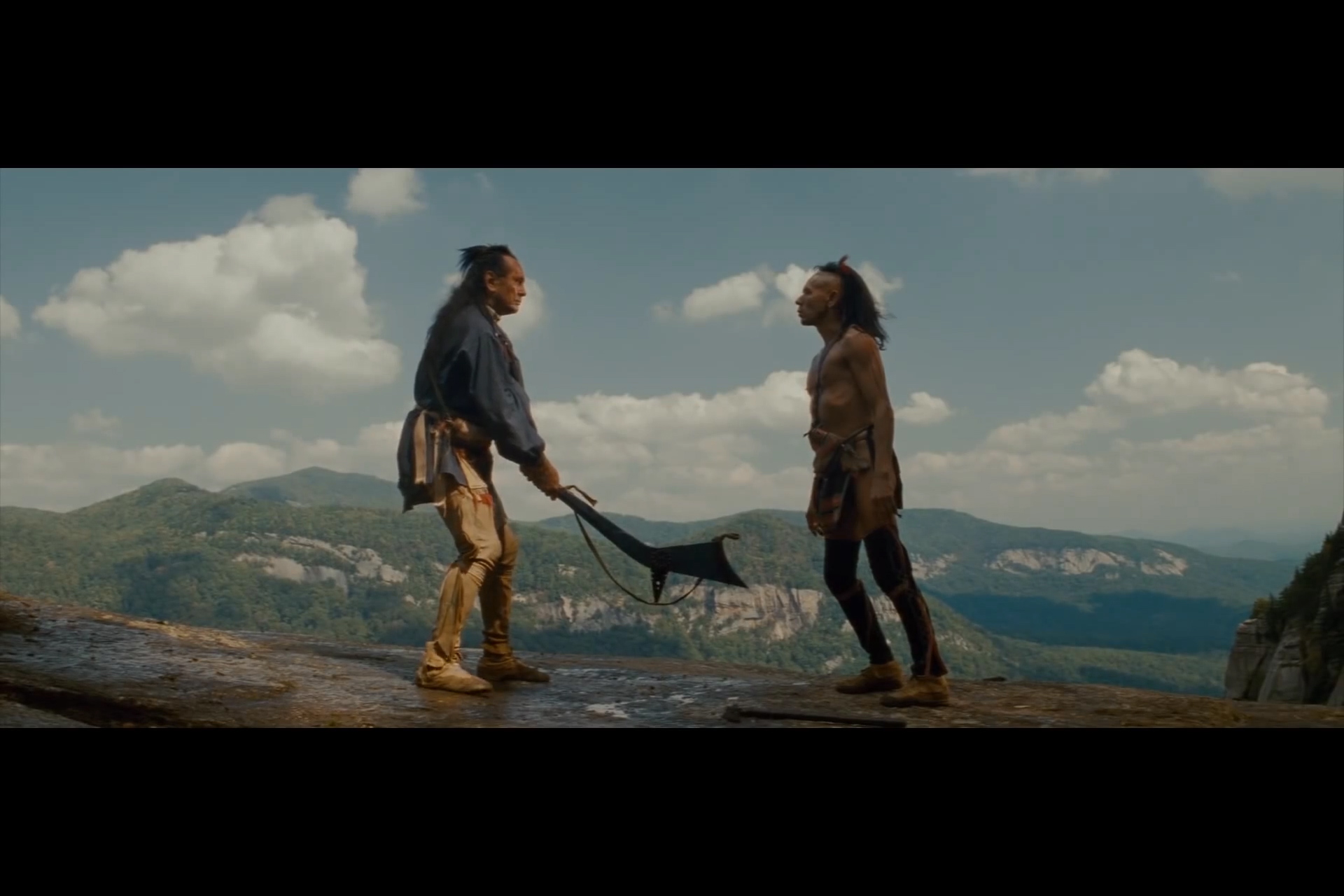 The Last of the Mohicans – Cliff Scene | Movie Review: The Blog